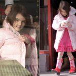 Suri, filha de Tom Cruise e Katia Holmes é sondada para desfilar no Rio.