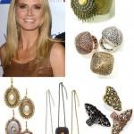 Heidi Klum lança linha de Bijoux
