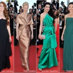 FESTIVAL DE CANNES 2012: LOOKS DO 1º DIA