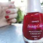 ESMALTE: CHERRY UP, BEAUTY COLOR