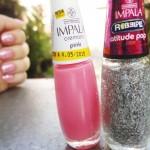 ESMALTE: PINK + ATITUDE POP, IMPALA