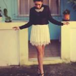 MEU LOOK: Maxi Colar & Camisa Transparente