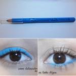 Lápis Delineador da Vult, Azul Turquesa Neon