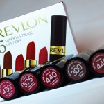 5 Super Lustrous Lipsticks, Revlon