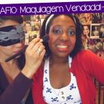 Desafio: Maquiagem Vendada!