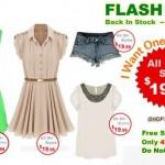 Flash Sale Romwe! 48 horas de promoção!