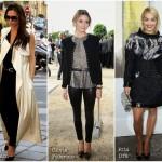 Looks das famosas na semana de moda em Paris!