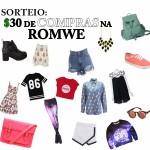 Sorteio: $30 para gastar como quiser na ROMWE!