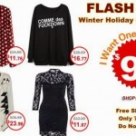 Flash Sale Romwe!