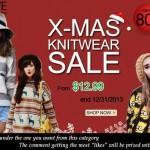 X-MAS ROMWE! Promoção de Natal.