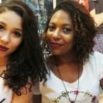 Maquia e Fala! Com minha amiga Mylena.