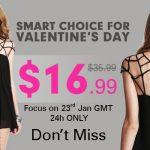 Promoção Romwe! Vestido lindo por $16,99