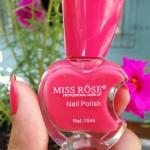 Esmalte: Miss Rôse – 006