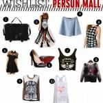 Minha Wishlist Persun Mall!