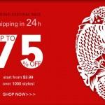 Promoção Romwe: Spring Festival Sale