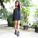 Meu Look: Black dress in the heat, you can too!