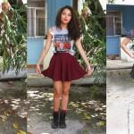 OUTFIT #3 | Como usar: Skater Skirt