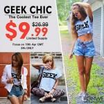 T-Shirt Geek, Romwe | Promoção