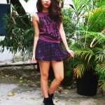 Meu Look: Purple winter!