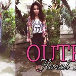 Outfit #4: Floral Dark