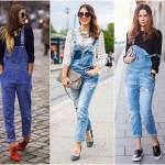 Tendência: Macacão/Jardineira Jeans