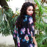 Meu Look: Kimono Floral