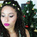 MAKE UP RÉVEILLON + HEADBAND DE FLORES