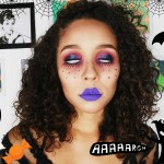 Boneca Sinistra! Maquiagem para o Halloween