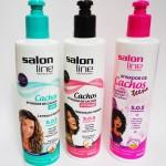 Ativadores de Cachos da Salon Line