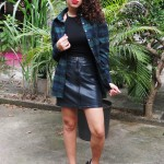 Meu Look: Black e Xadrez