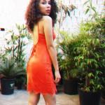 Meu Look: Vestido coral
