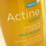Actine Control – Sabonete Facial Liquido e em Barra